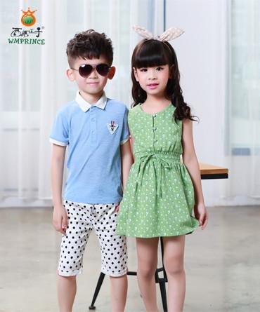 子品牌童装兼顾不同地域