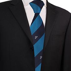 领带厂家定做空乘领带 乘务员工作领带