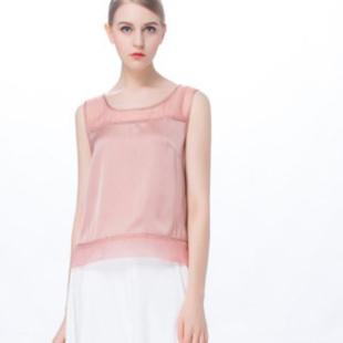 乔帛夏季白色单品凸显着唯美浪漫
