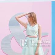 青花语女装一波纯色连衣裙浪漫来袭