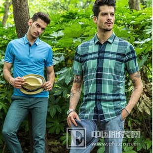 品牌男装沙驰国际魅力衬衫来袭