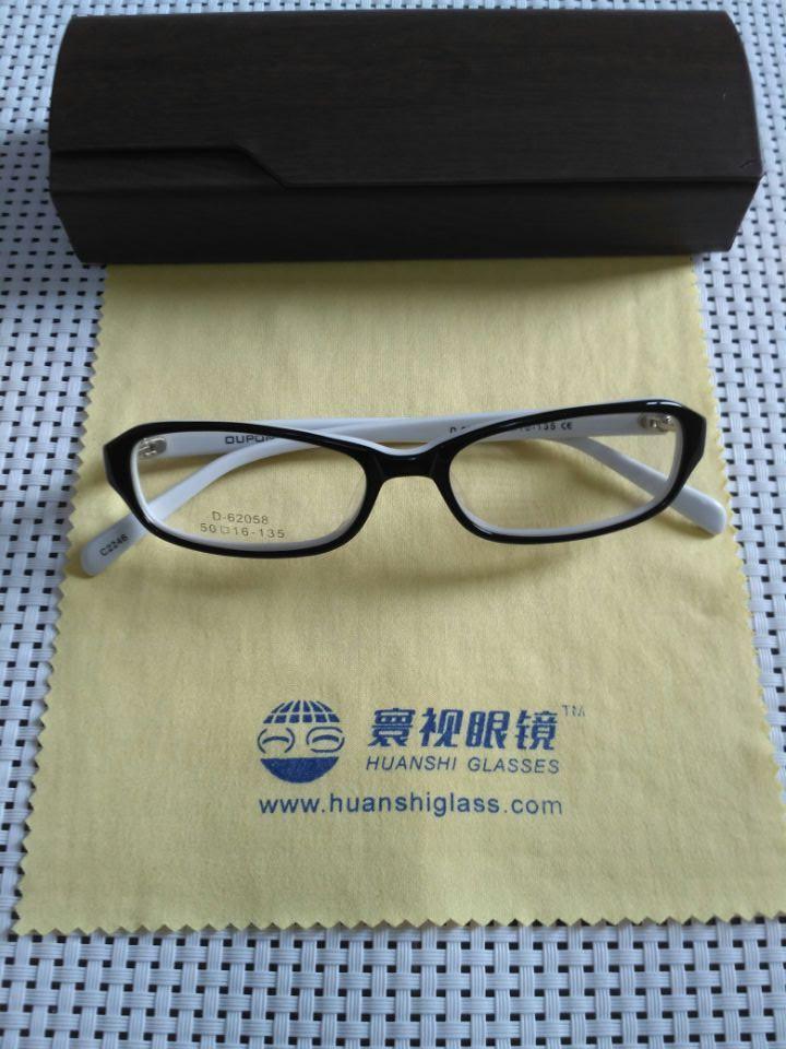 寰视眼镜HS-P-G-3001板材架高度超薄眼镜