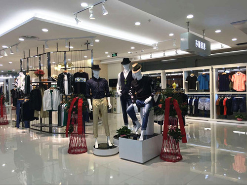中国将成为服装消费市场,莎斯莱思男装前景一片大好
