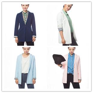 品牌折扣貨源   秋冬男女正品夾克,長袖,大衣  韓國服飾