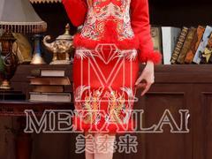 高档旗袍设计_想要买旗袍就来成都美泰来服饰