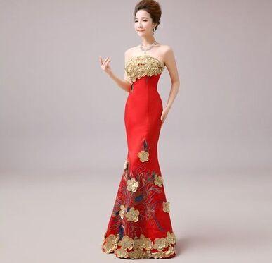 主持人礼服、婚宴旗袍婚纱等服装