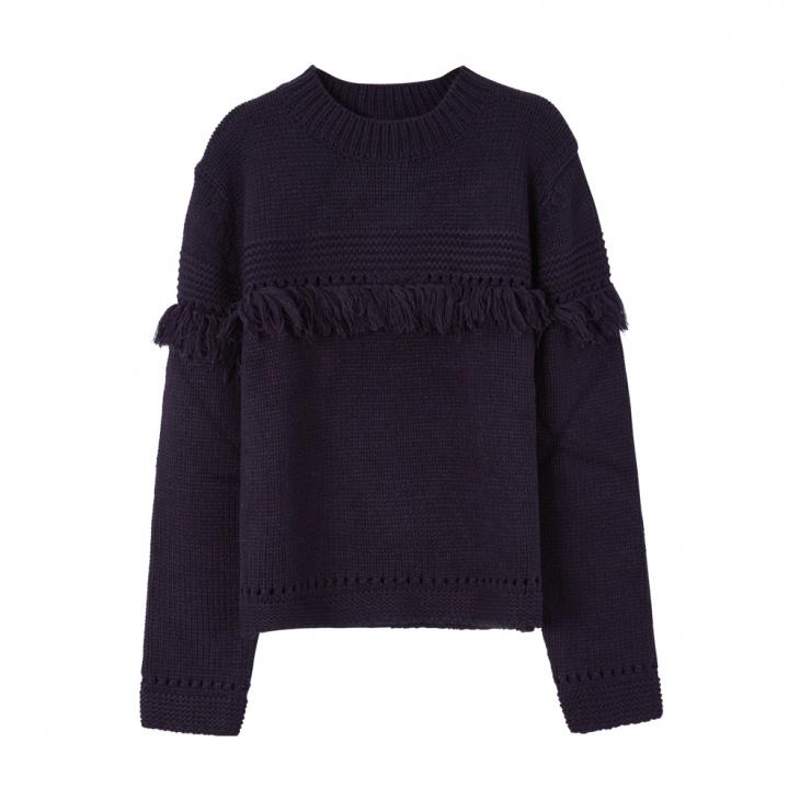 新款女士品牌马甲毛衫加工厂