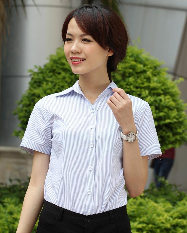 新潮面试酒店工作装尽在一条龙服装:惠安女士职业衬衫