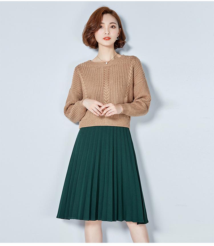 短款毛衣厂家|新款女士毛衫|手织短款毛衣