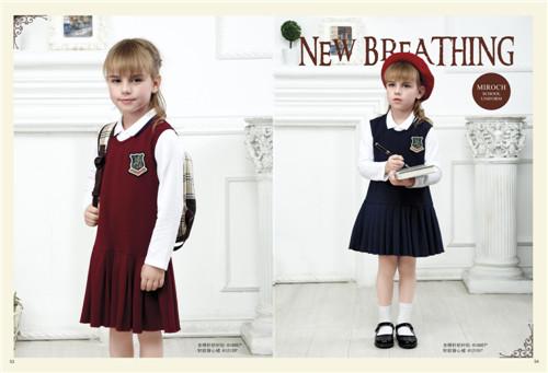 纯棉校服 学生装校服定做 班服 演出服 运动套装批发
