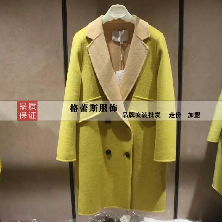 双面羊绒大衣呢外套100%退换货