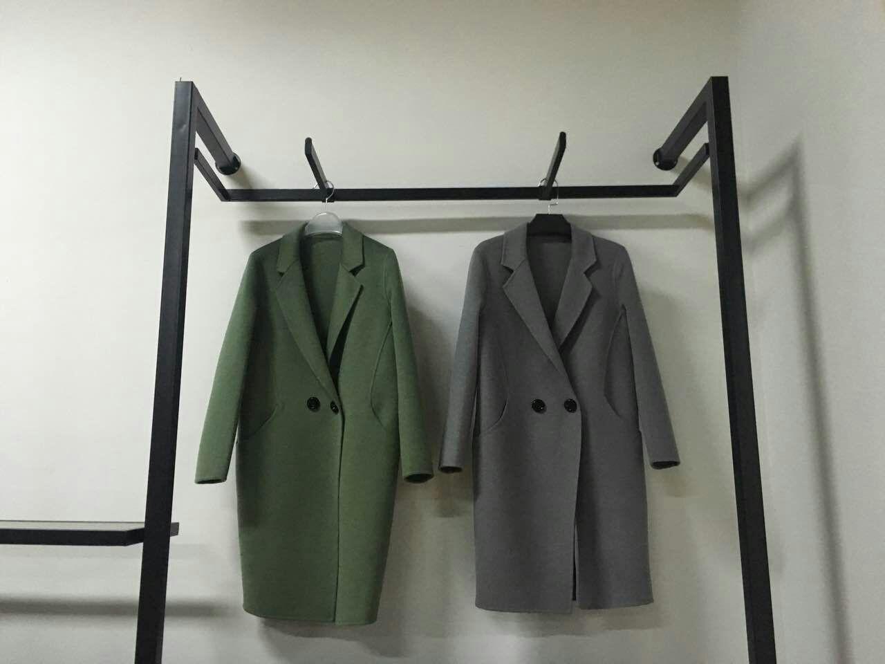 欧宝迪厂家直销双面羊绒大衣招代理