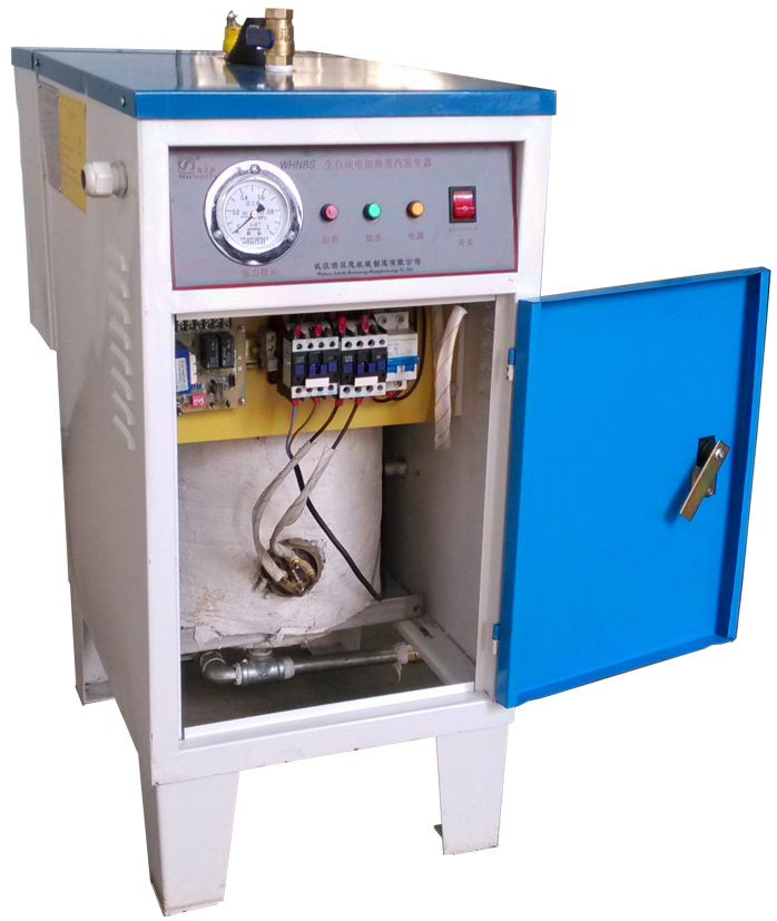 武汉金博鑫服饰采购0.3t 300公斤燃油蒸汽发生器用于服装整烫