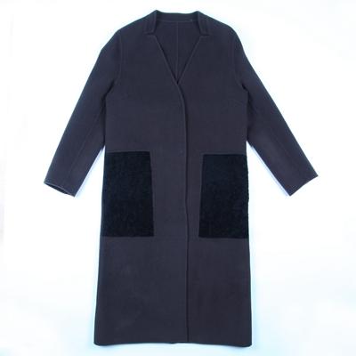 加盟欧宝迪品牌女装低价供应双面羊绒大衣