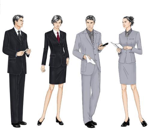 促销厦门职业装制作——潮流厦门职业装尽在欣欣服装