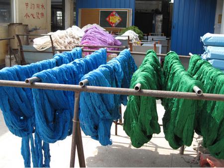 新乡好的纱线:西双版纳常温高温各种纱线染色