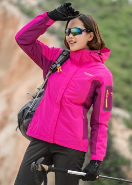 征途者冲锋衣 秋冬户外男女情侣 两件套三合一防水透气登山服西藏