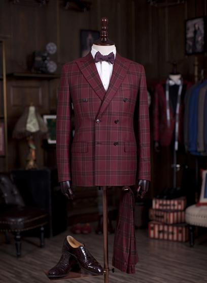 上海男式西装定做上海订做西服价格
