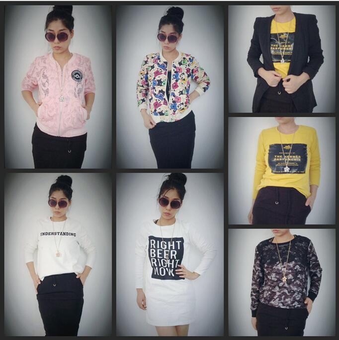 服装工厂一手货源外贸品牌女装库存大量特价清仓