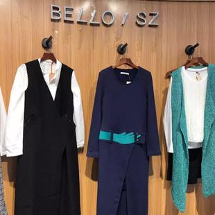 "BELLO SZ淿素女装招商 打造""原创的美丽""时代!"
