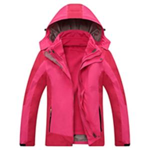 郑州定做三合一冲锋衣空白可以印字印公司LOGO