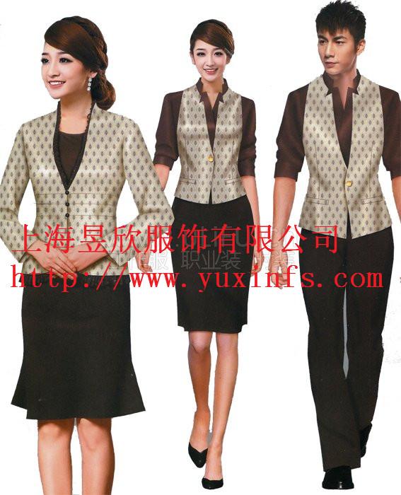 上海定做酒店工作服装