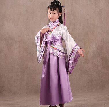 民族乐器古筝舞蹈表演服装