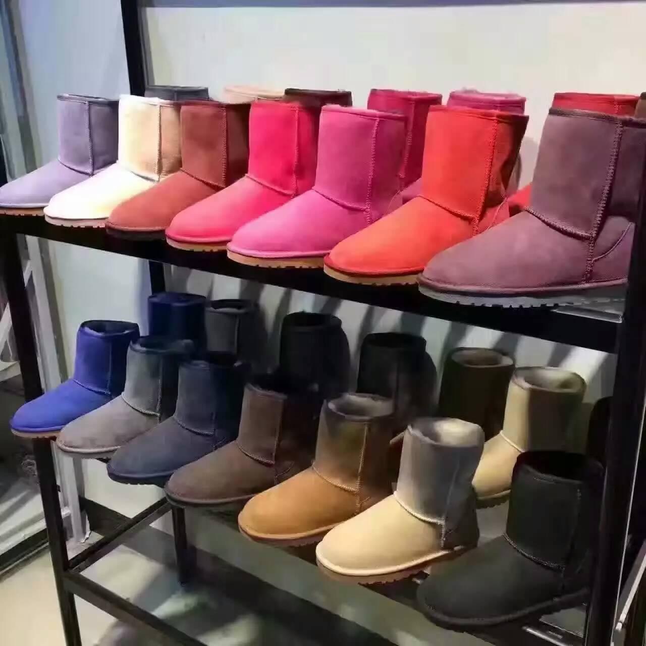 ugg 微信代理可信赖羊皮毛一体材料 橡胶鞋底【泡泡龙鞋包】