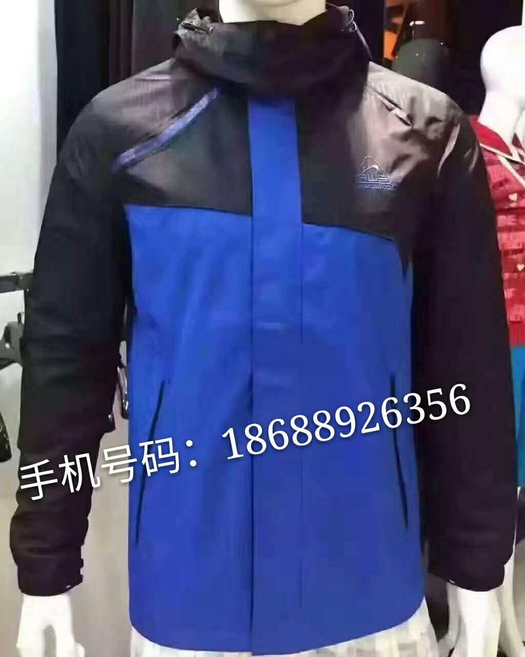 专卖店户外服装断码清货低价批发