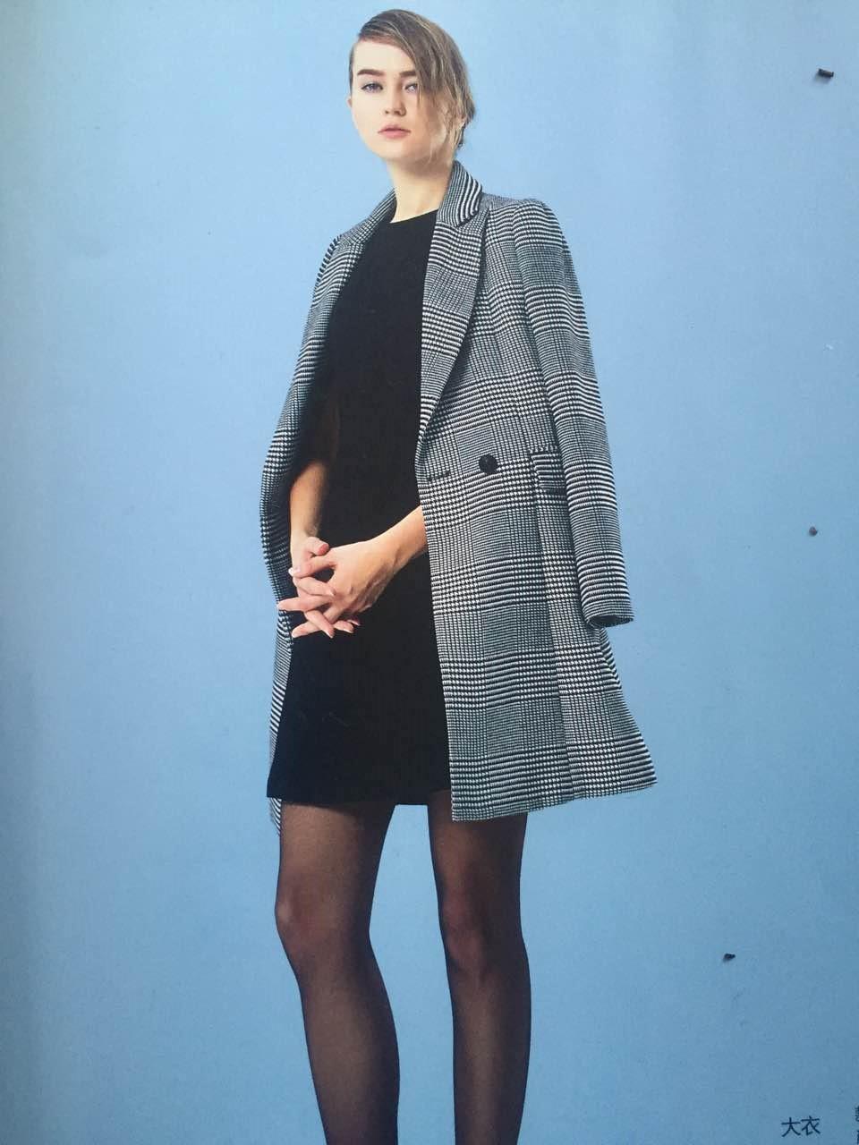华丹尼15年冬装 品牌折扣店货源 女装走份专柜正品 女装尾货批发