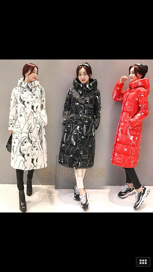 库存女装一站式走份批发,新款羽绒棉服低价供应