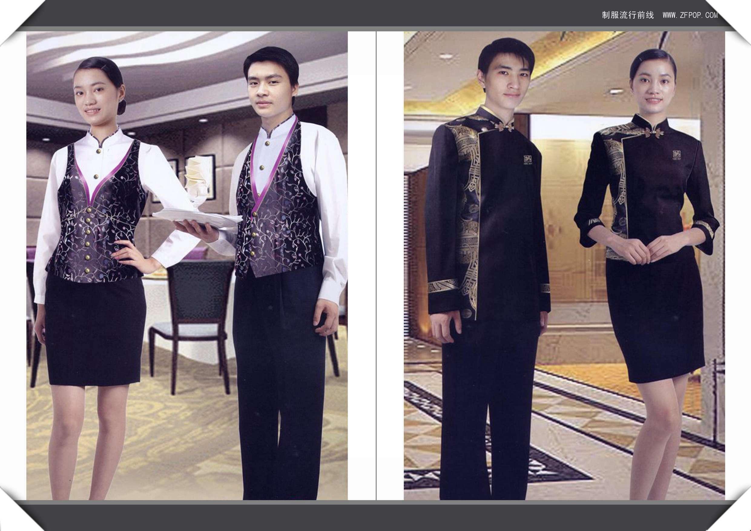 上海酒店制服订做  上海服装定制