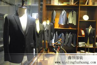 淄博鑫领服装长期加工订做男女职业装工装