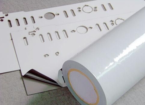 黑白高粘保护膜 高粘黑白保护膜