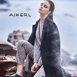 时尚成熟欧美风品牌艾可儿女装招商火爆进行中
