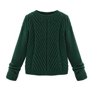 韩版男装拉链毛衣外套加工厂