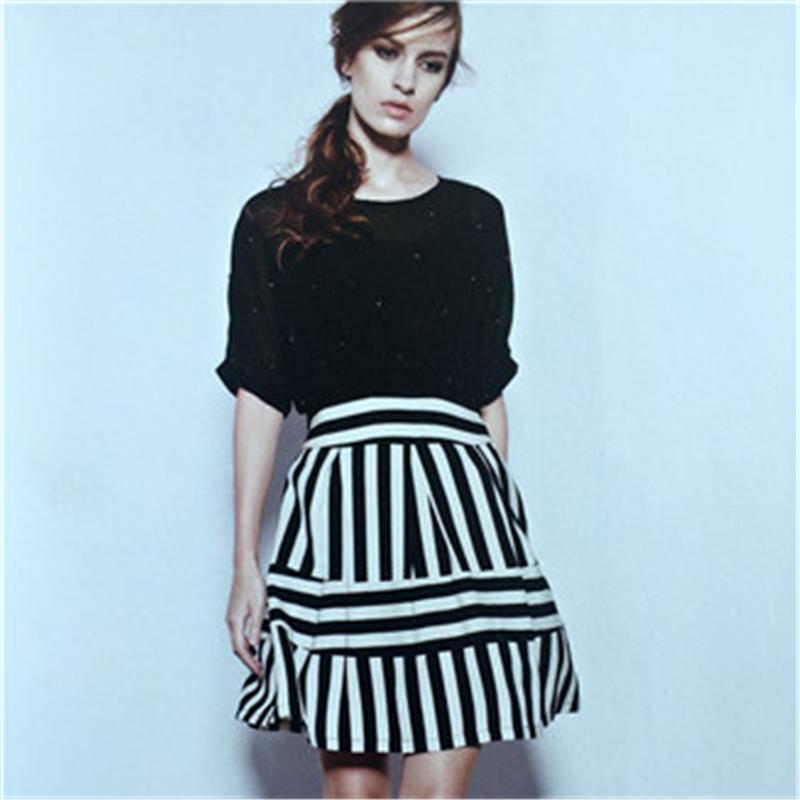 专柜正品牌女装折扣剪标 卡尼欧女装16夏 折扣女装