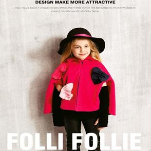 国际轻奢潮牌FolliFollie在中国,又推出全新系列品牌