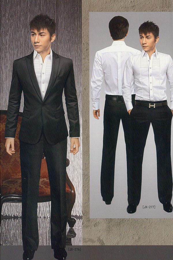 上海职业装订做男式西服套装定制