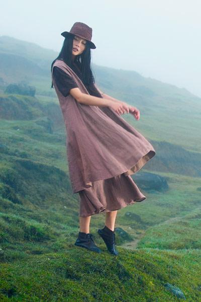 棉麻布衣风格女装加盟 -因为诚邀加盟 知名实力品牌女装!
