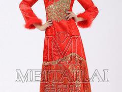 成都美泰来服饰,信誉好的旗袍供应商:新款旗袍礼服订制