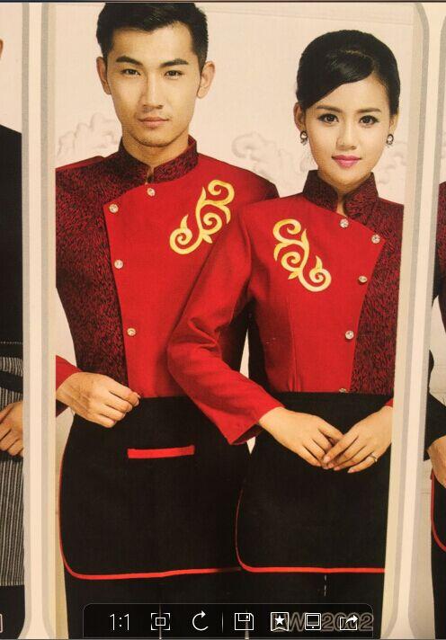 酒店服装订做  上海酒店制服订做