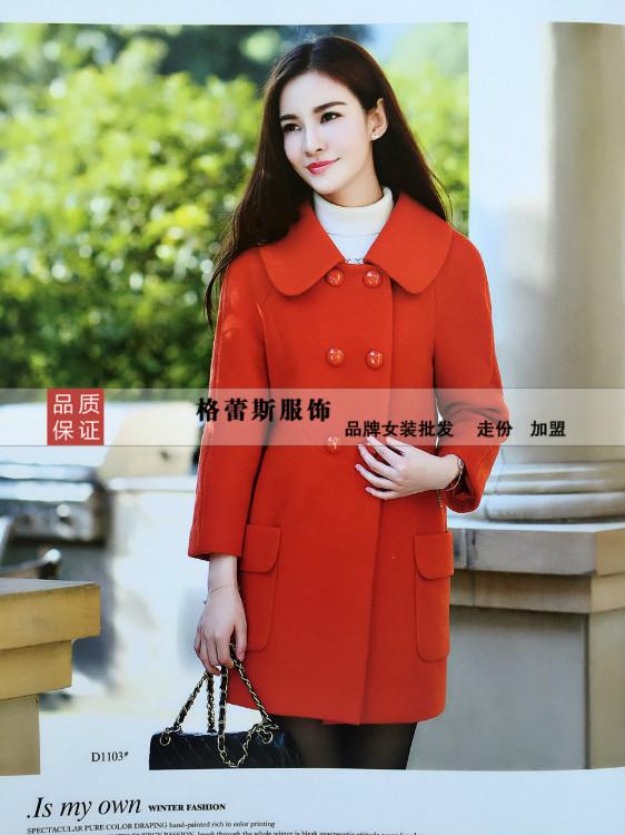 广西南宁柳州女装批发女士风衣外套时尚女式风衣低价批发