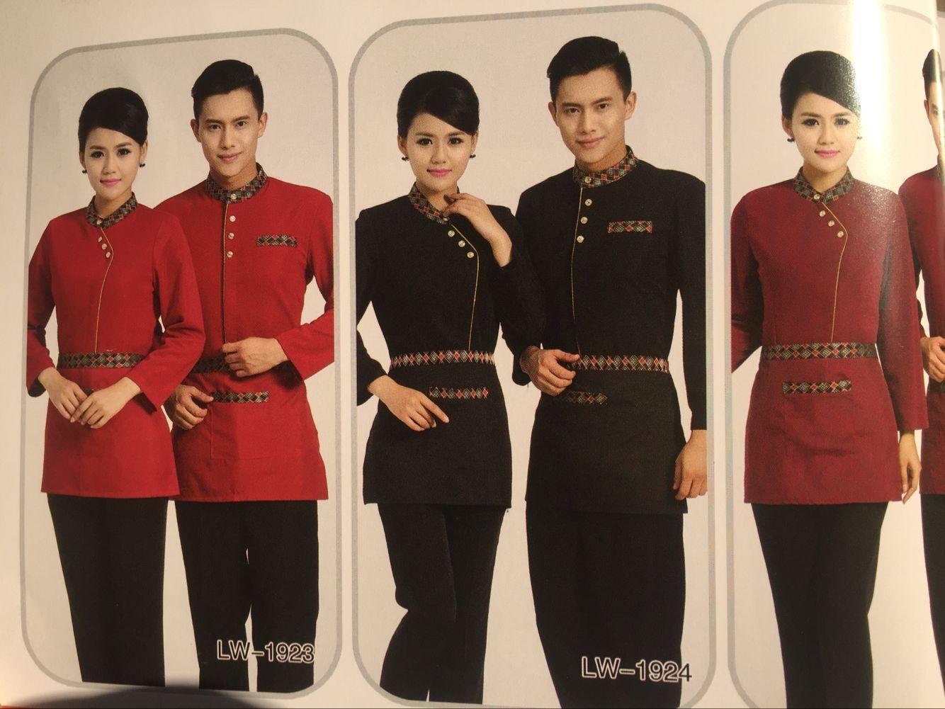 定制餐饮服务员工作服 上海专业订做订制酒店制服