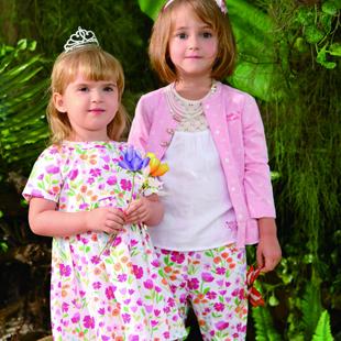 加盟皇后婴儿童装 提供国际品牌素质的环保舒适、活泼时尚的童装!