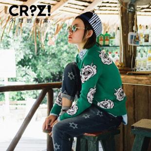 CRZ潮牌潮流艺术带来女装加盟新选择 引爆异世界