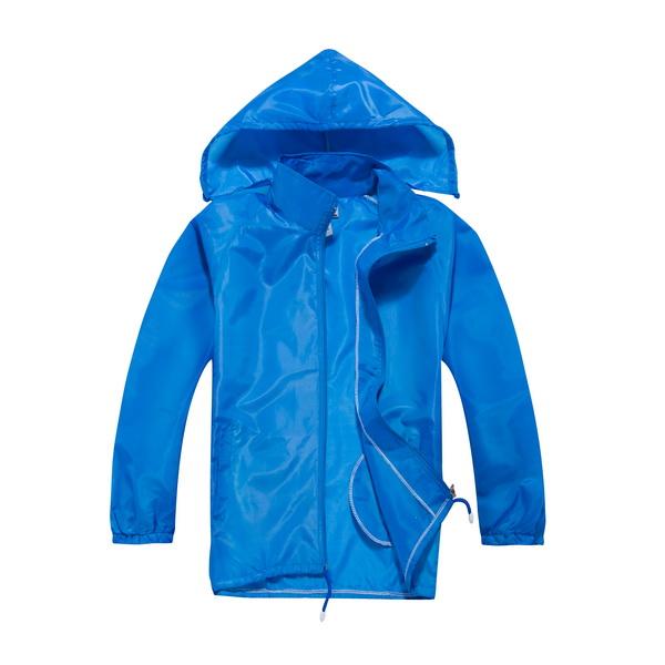 圣伊莉服装专业提供优质的防水户外防紫外线速干风衣帽子可拆运动服:运动风衣