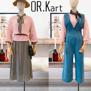 设计师原创女装品牌OR.Kart解构诚招优质经销商加盟、代理