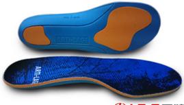专业运动缓冲减震鞋垫蓝色舒适款极限运动篮球滑板专用鞋垫批发