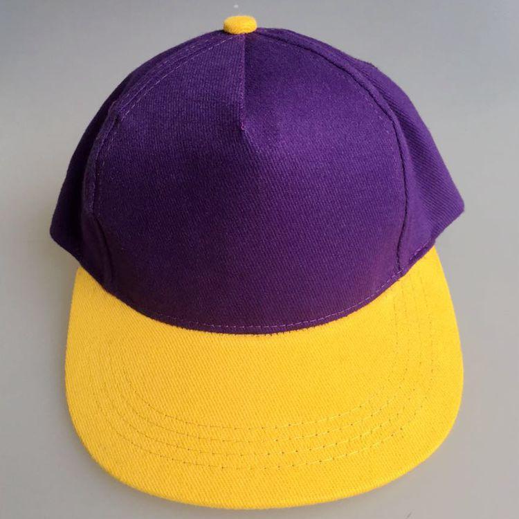 儿童帽子厂家生产定做嘻哈儿童棒球帽 平板平舌帽子